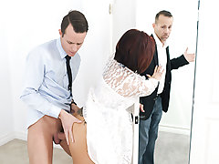 Ryder Skye was about to get married and her stepson was not exhilarated at all. He wished her all for himself, and from the looks of it his perverted parent was going to be the one plowing that curvaceous twat of hers and not him. Maybe he still had a opp