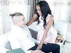 Tiffany Nunez! Not only was she intelligent but also super hot. Nate's girlfriend was instantaneously jealous but figured she could trust him to be faithful. Tiffany instantaneously commenced to deepthroat his girthy milky cock. Nate played with her